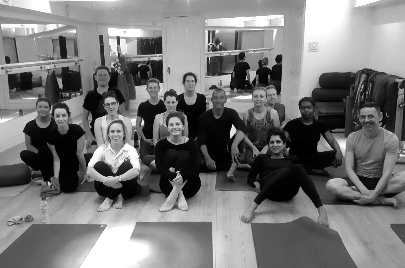 Saturday morning class at Wellbeing95