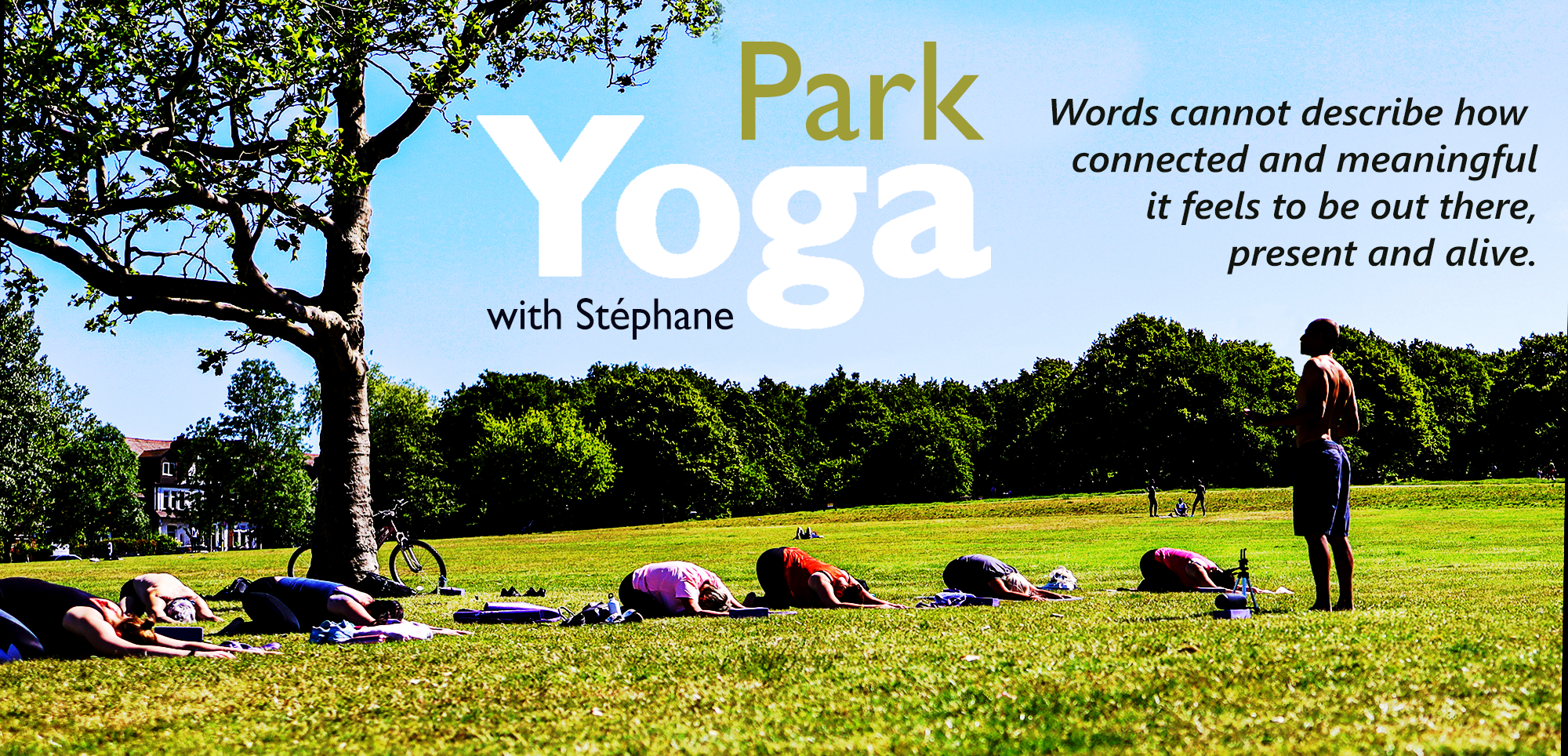 Header ParkYoga Website